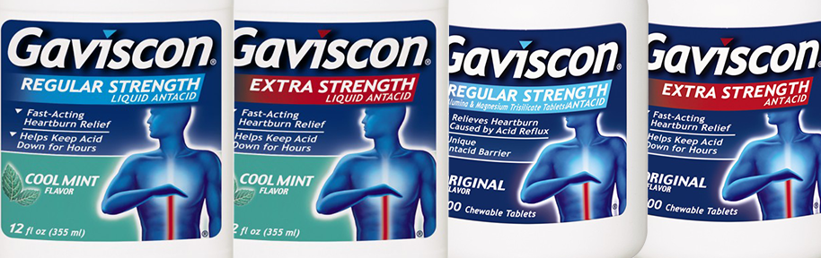 Gaviscon Heartburn Treatment Products